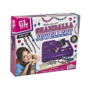 GL Style Make Your Own Shamballa Bead Bracelets Childrens Jewellery Craft Kit