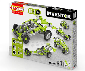 Engino Inventor 12 Models Cars