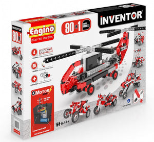 Engino Inventor Motorized 90 Multi Models