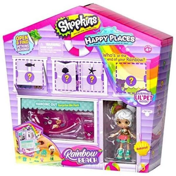 Happy Places Shopkins Rainbow Pack - Hanging Out