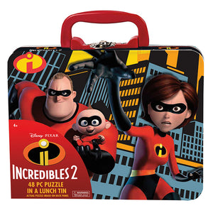 Incredibles 2 Puzzle In Lunch Tin