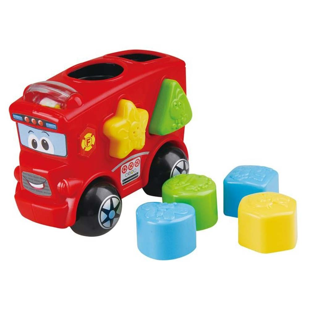 PlayGo Fire Engine Shape Sorter