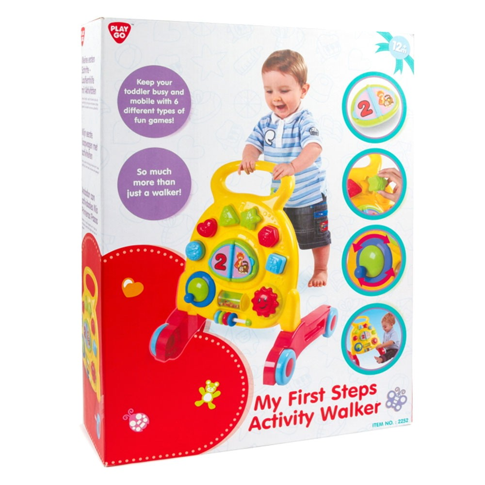 Walker Playgo My Activity 1st Baby Steps Qtrhsd