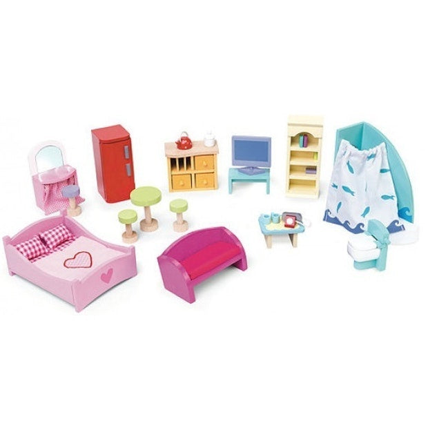 Le Toy Van - Deluxe Dollhouse Furniture Set