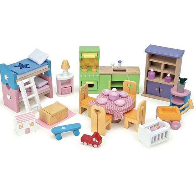 Le Toy Van - Dollhouse Starter Furniture Set