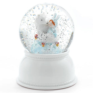 Djeco Snow Globe Night Light Lila & Pupi