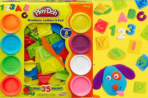 Play-Doh Numbers 'n Letters Fun Playset