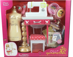 Our Generation Deluxe It Seems Perfect Dressmaking Playset