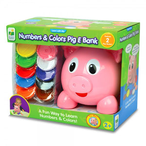 Learn With Me Numbers & Colours Pig E Bank