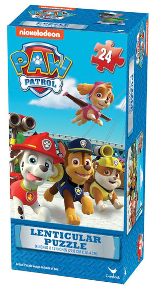 Paw Patrol Lenticular Tower 24 pc Puzzle