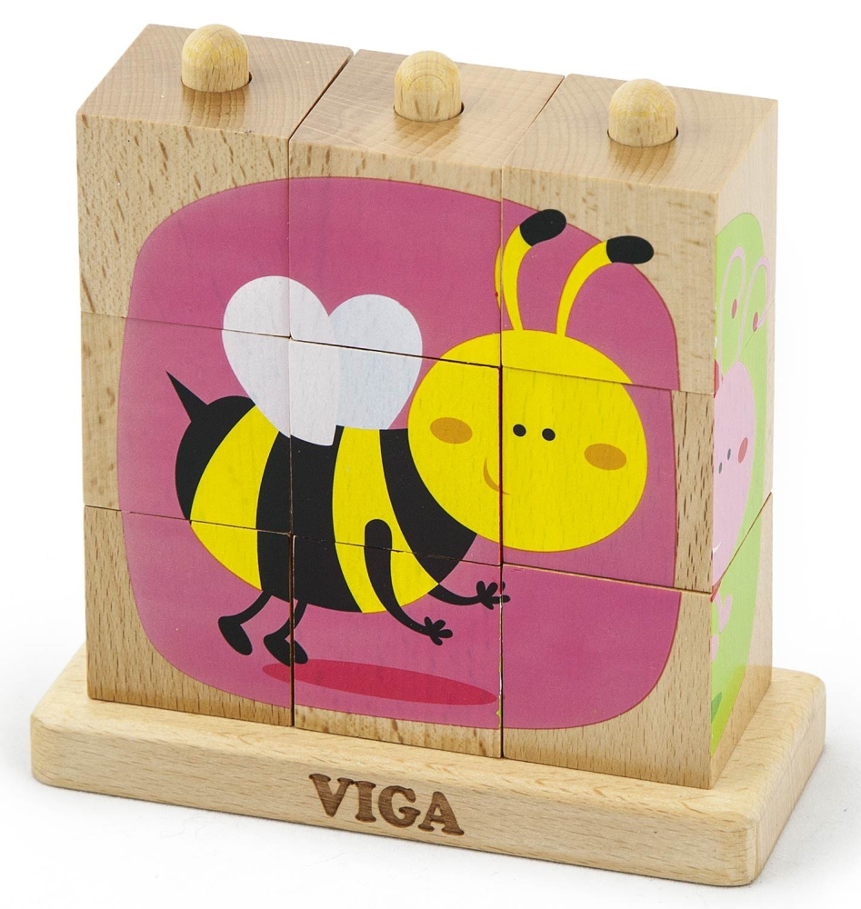 VIGA Stacking Cube Puzzle