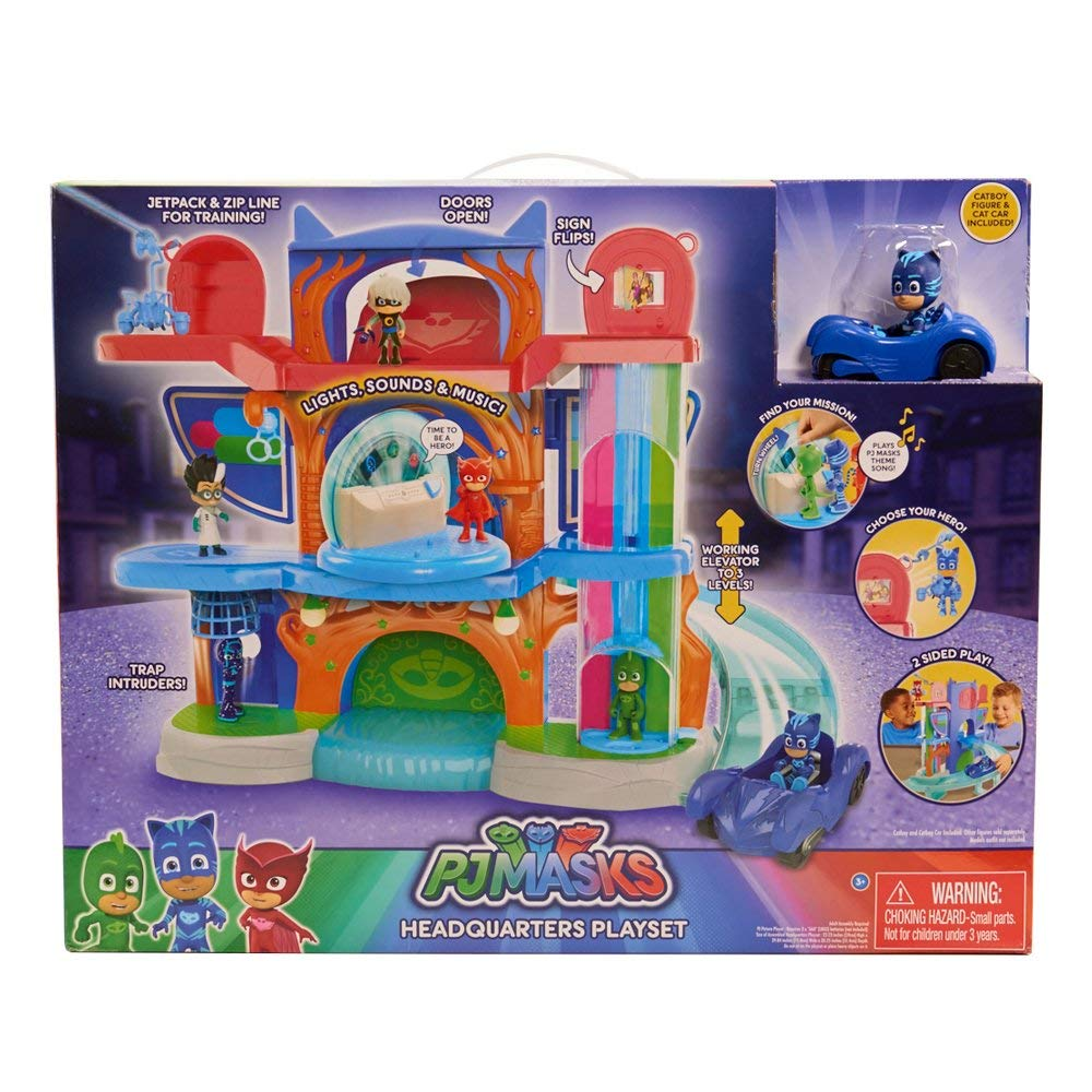 PJ Masks Deluxe Headquaters Playset