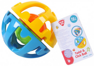 PlayGo Twist & Click Ball