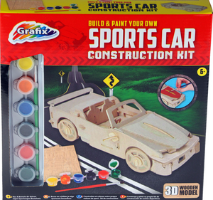 Grafix Race Car Construction Kit