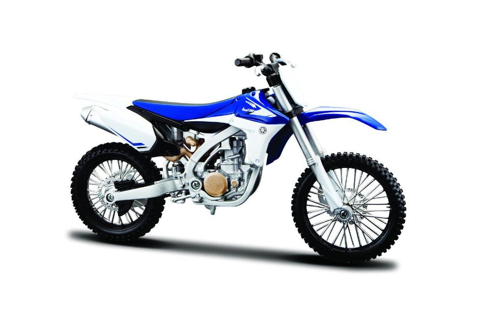 Maisto Yamaha YZ450F Motorcycle Scale Model 1:12