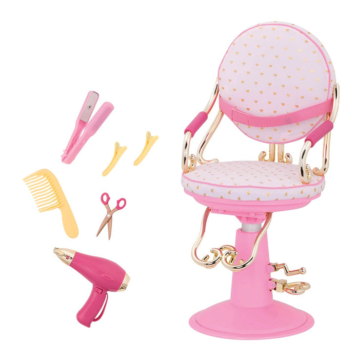 Our Generation Classic Sitting Pretty Salon Chair Playset