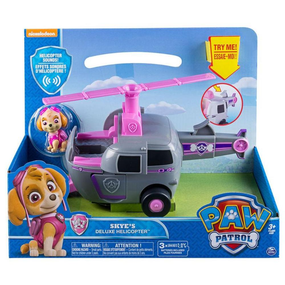 Paw Patrol Lights & Sound Feature Vehicle Skye