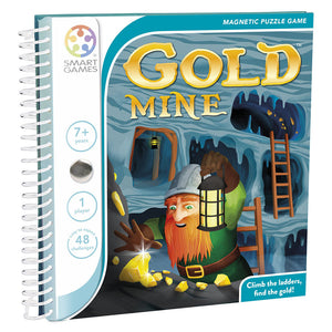 SmartGames Goldmine Magnetic Travel Game