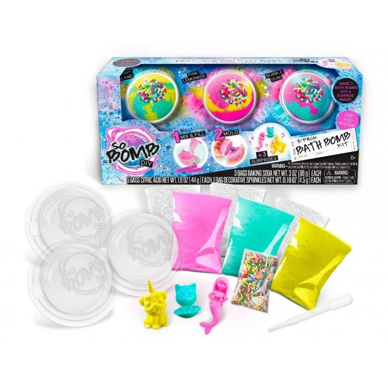 So Bomb DIY Bath Bomb Kit 3 Pack - Sweety