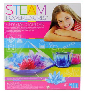 4M Powered Girls Crystal Garden Kit