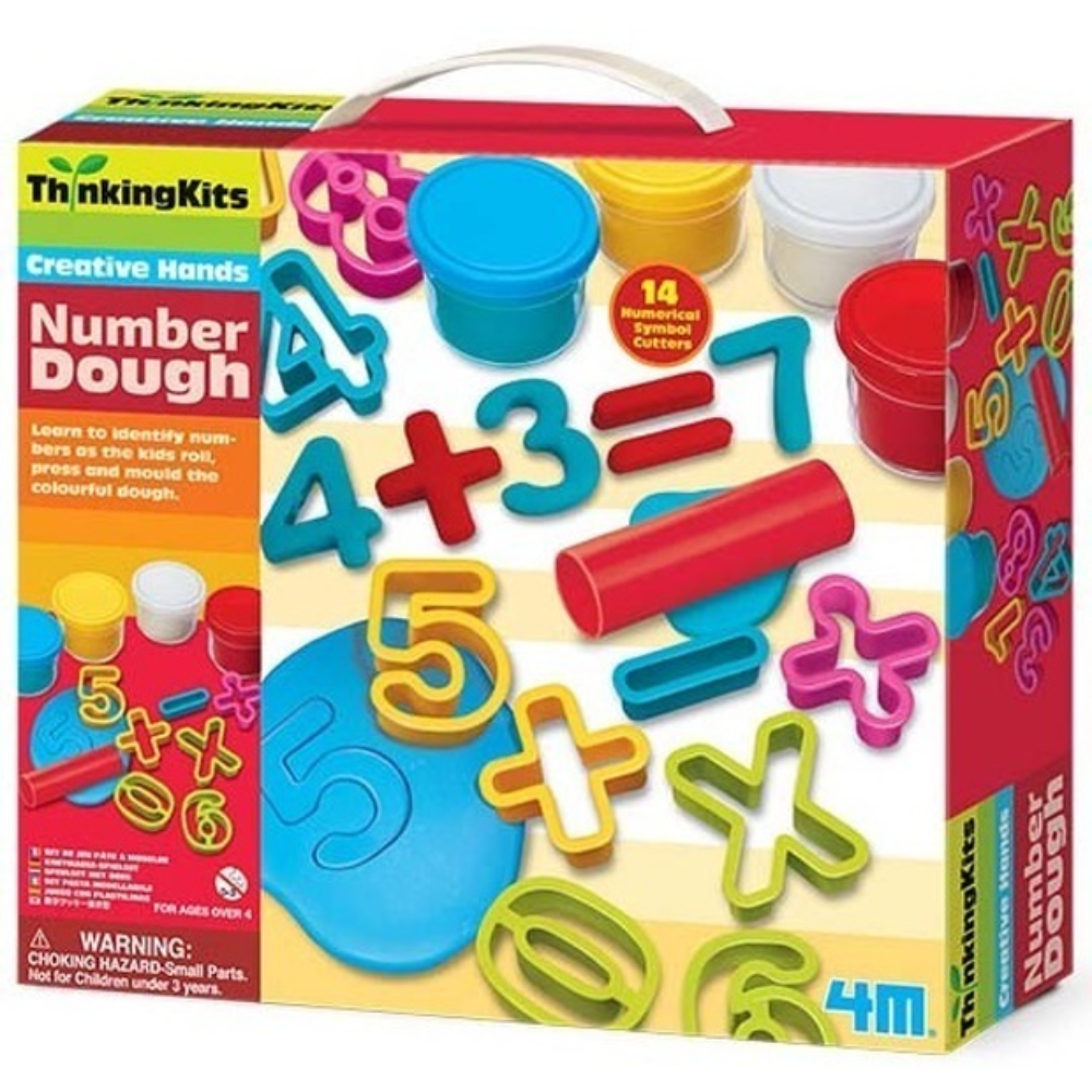 4M Number Dough Kit