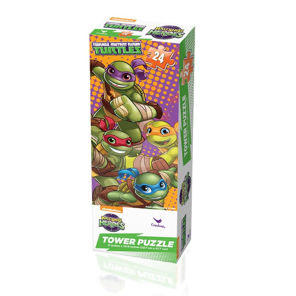 Teenage Mutant Ninja Turtles Half Shell Heroes Mini Tower 24 pc Puzzle