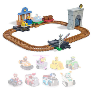 Paw Patrol On a Roll Adventure Bay Rescue Train Set