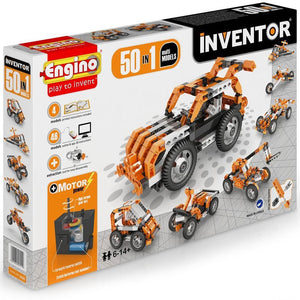 Engino Inventor Motorized 50 Multi Models