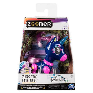 Zoomer Zupps Tiny Unicorn Midnight