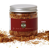 A mixture of rose petals, sumac, sesame seeds and spices.