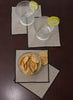 Linen Cocktail and Dinner Napkins - Set of 4