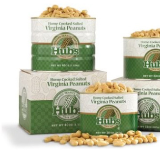 Hubs Virginia Salted Peanuts