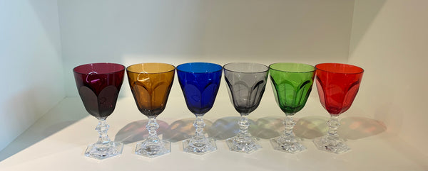Synthetic Crystal Dolce Vita Water / Wine Goblets - Set of 6