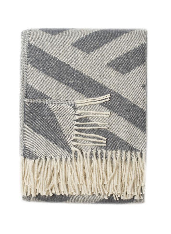 Olympia Grey Throw - Online Exclusive