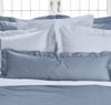 Capri Cotton Sateen Duvet Covers & Shams