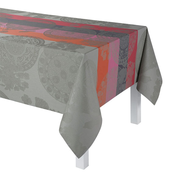 Fleurs Gourmandes Coated Tablecloth & Napkins