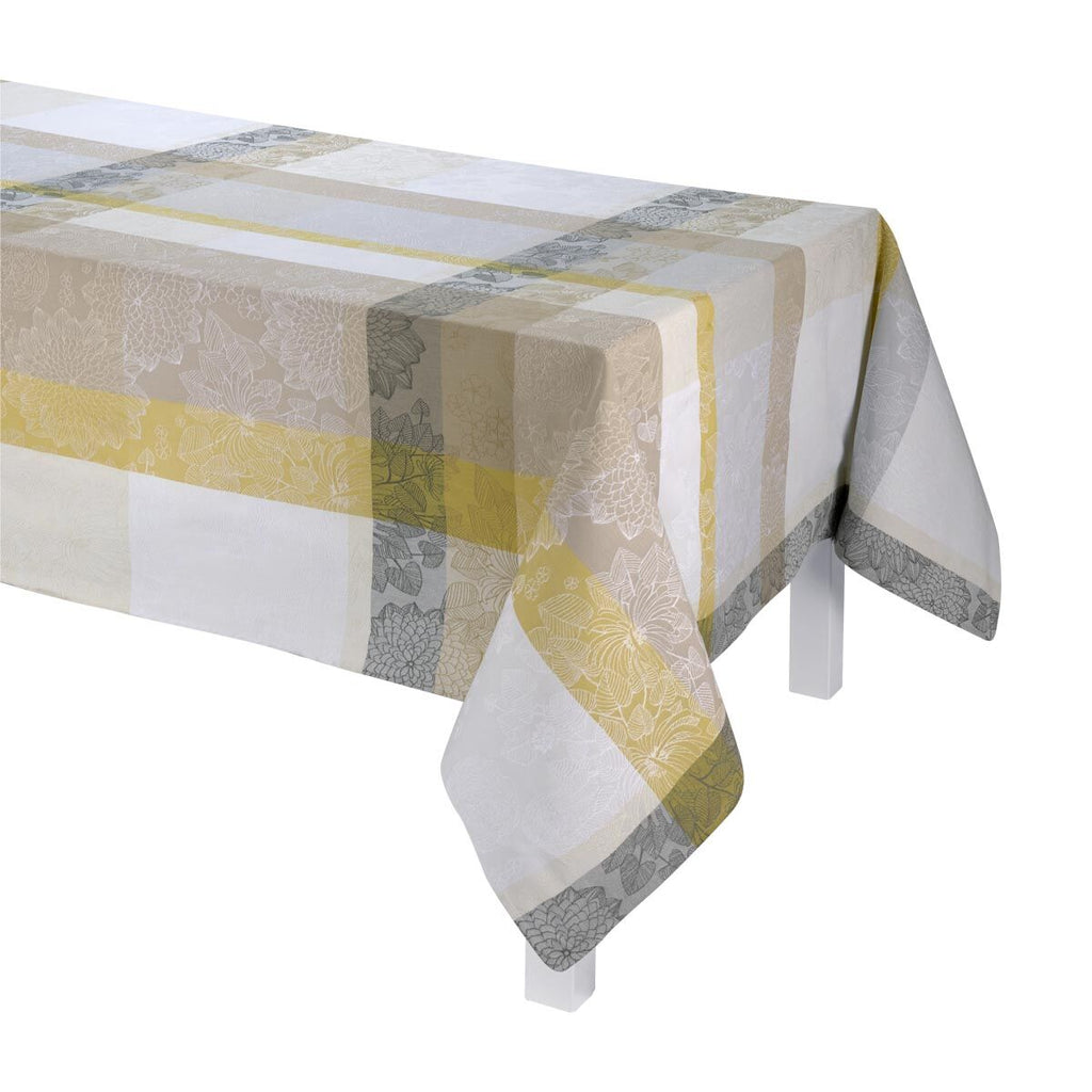 Marie Galante Coated Tablecloth, Placemats & Napkins