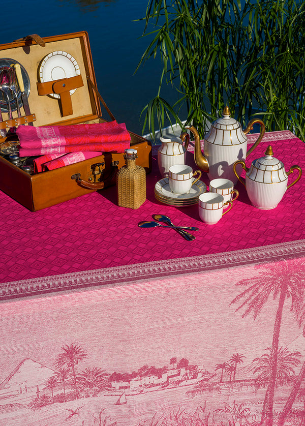 Croisiere sur le Nil Tablecloth, Placemats, Napkins & Runners
