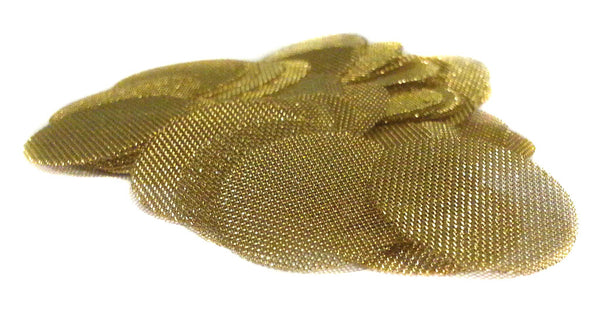 "GOLD LION GEAR - Grimm SUPA 50 Brass Screens Pipe Filters - 3/4"" (.75) Pipe Screens…"
