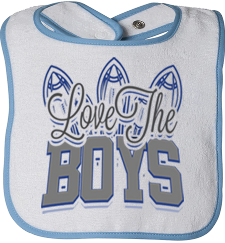 Love The Boys Bibs