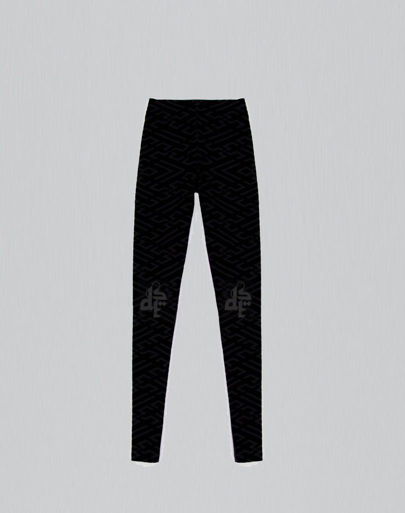 DST Hitam Leggings