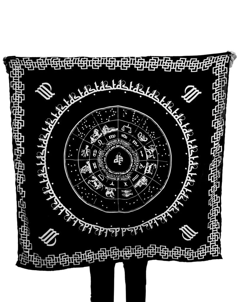 DST Cotton Zodiac Scarf