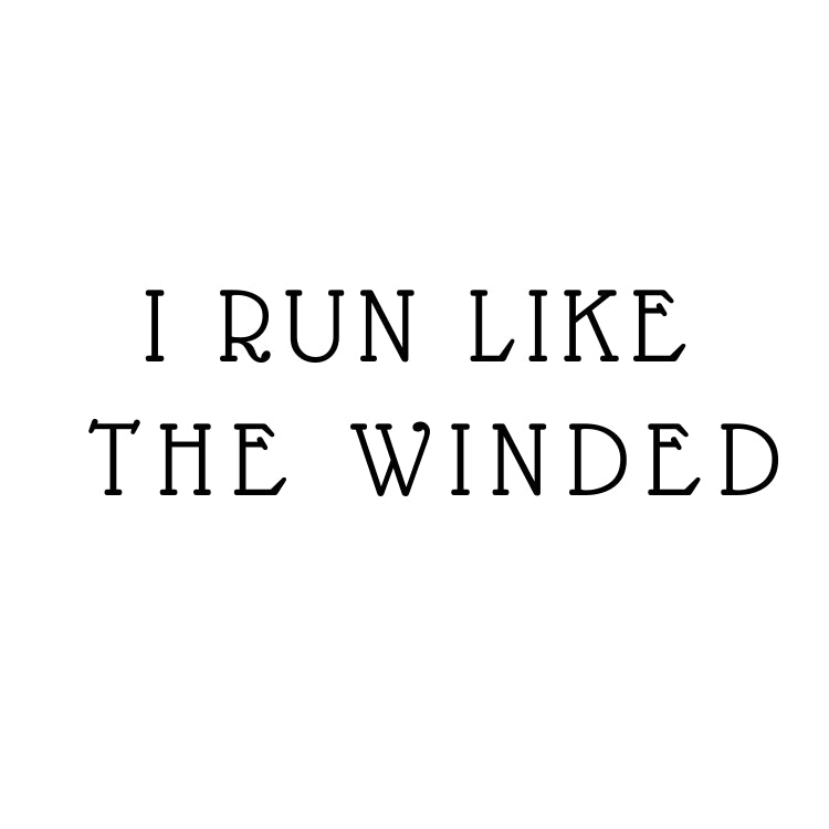I Run Like The Winded2