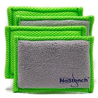 "NoStench™ Kitchen Sponges<br><font color=""#2e8ca9"">The Sponge That Doesn't Stink!</font>"