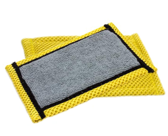 "<font color=""#2e8ca9"">NoStench™ Antibacterial Utility Scrubbing Pad</font><br>Heavy duty scrubbing pad<br>that stays fresh"