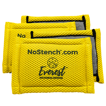 "<font color=""#2e8ca9"">NoStench™ Scrubbing Sponge</font><br>Heavy duty scrubbing pad<br>that stays fresh<br><i>FREE SHIPPING</i>"