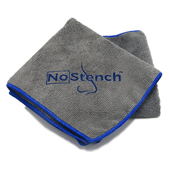 "NoStench™ Treated Microfiber cloth - Large 16""x16"" 340gsm<br><font color=""#2e8ca9"">Clean better, clean safer with antimicrobial odor protection</font><br><i>FREE SHIPPING</i>"