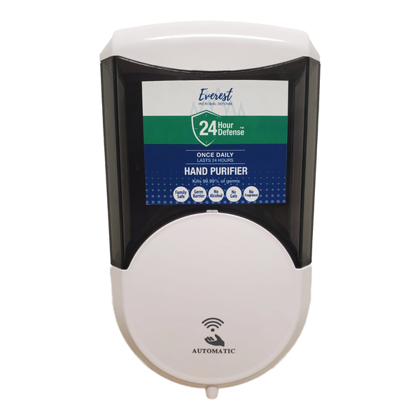 Touchless Automatic Wall Dispenser - 24 Hour Defense™ Hand Purifier