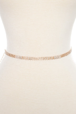 Crystal Waist Chain