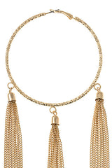 Tassel Me Up Hoops